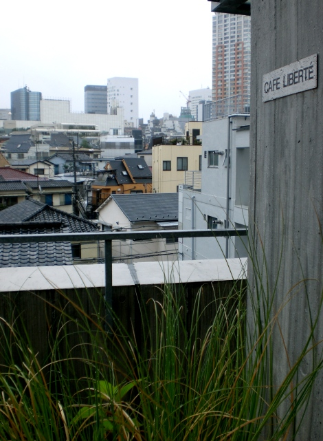 "*secret rooftop location*--just kidding remember the post about the ""tokyo hipster club?"""