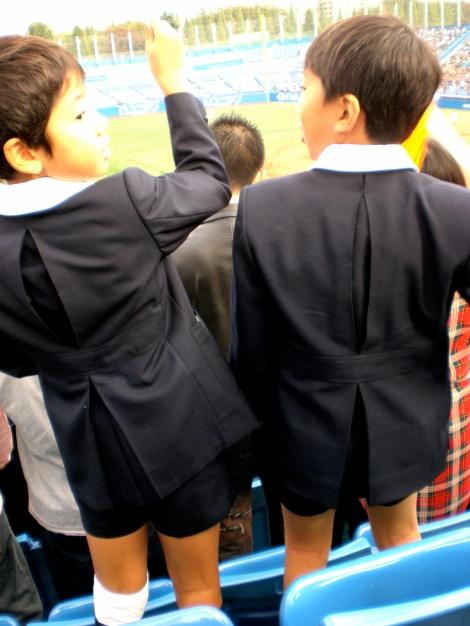 keio elementary school kids