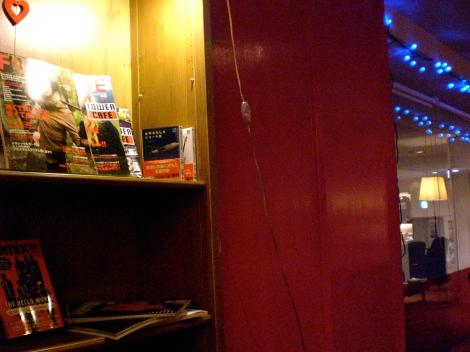 Tower Cafe (Tower Records), Ebisu.