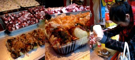 Tacoyaki - octopus balls!