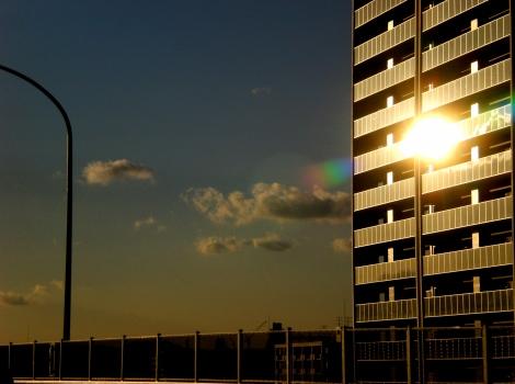 sun admiring itself