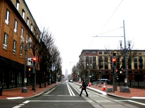 Eerily empty streets