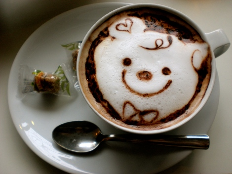 "The ""Strobe Latte"" - cutest latte in the world?!"
