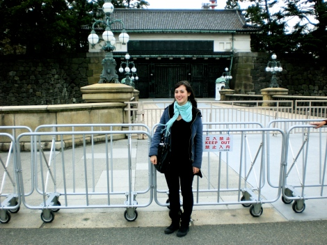 There were all kinds of tourists taking pictures in front of this gate so of course we did too.