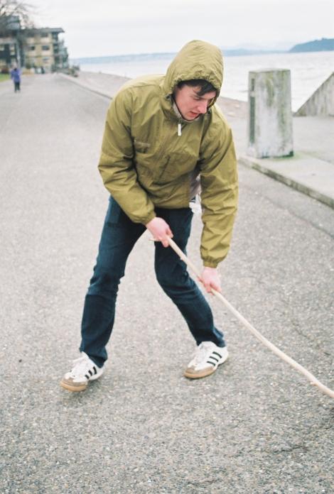 Ben, street hockey extraordinaire