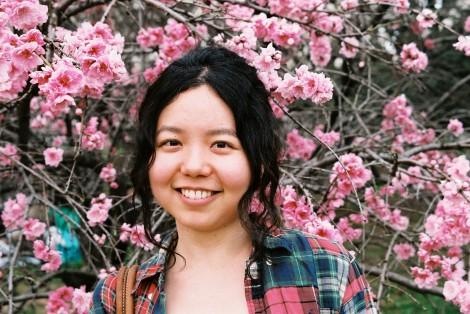 Ryoko in the flowers, hehe.