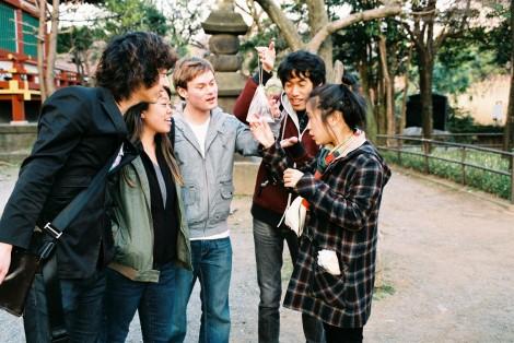 Yutaro, Michelle, Ben C., Ben T., L. Ploy