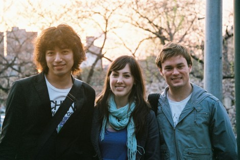 L. Ploy took this - Yutaro, me and Ben C.