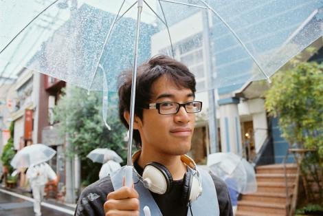 Clear umbrellas!
