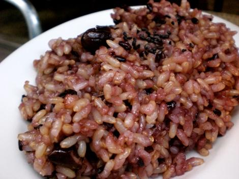 """black rice"" - mixed grains"