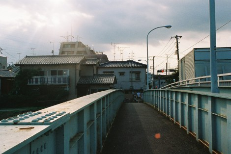 Goodbye bridge I love to walk over!