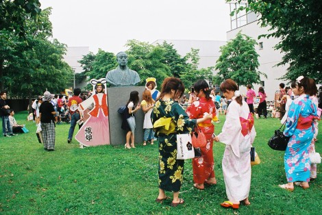 It was cool to see everyone in yukatas - some of them were really gorgeous