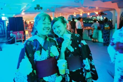 Michelle & Nozomi --blue!