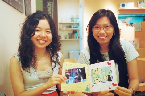 Ryoko and MK - my hiking and dinner partners over the year! They made me a scrapbook of our adventures together and I almost got a little teary.. ahh I'm gonna miss you guys!!