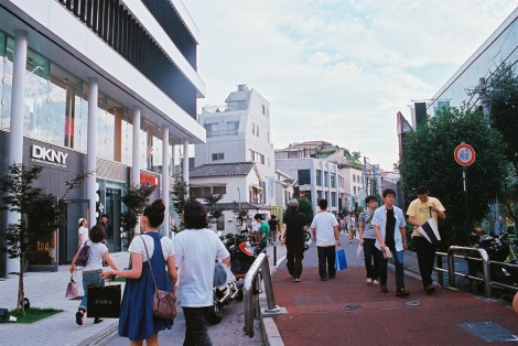 This is one of my very favorite streets, Harajuku.