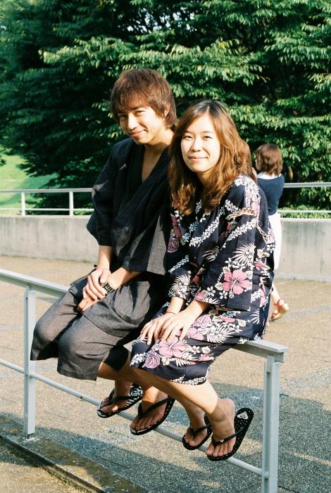 Amy and Yutaro : )